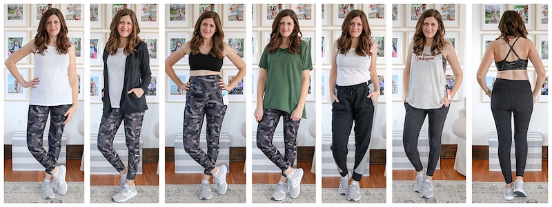 I was shocked at how my self-confidence grew while trying on the clothes from my Wantable Active Edit. Here's my honest review of the service. The fitness clothes are great for any season: spring, summer, fall or winter.
