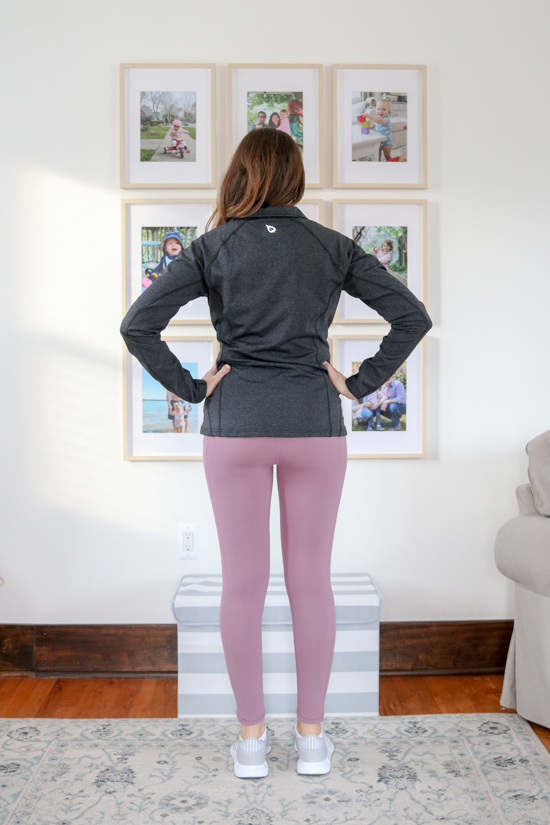 Amazon Fashion Activewear Review - BALEAF Women's Fleece Pocketed Running Jacket ($34) and $20 leggings