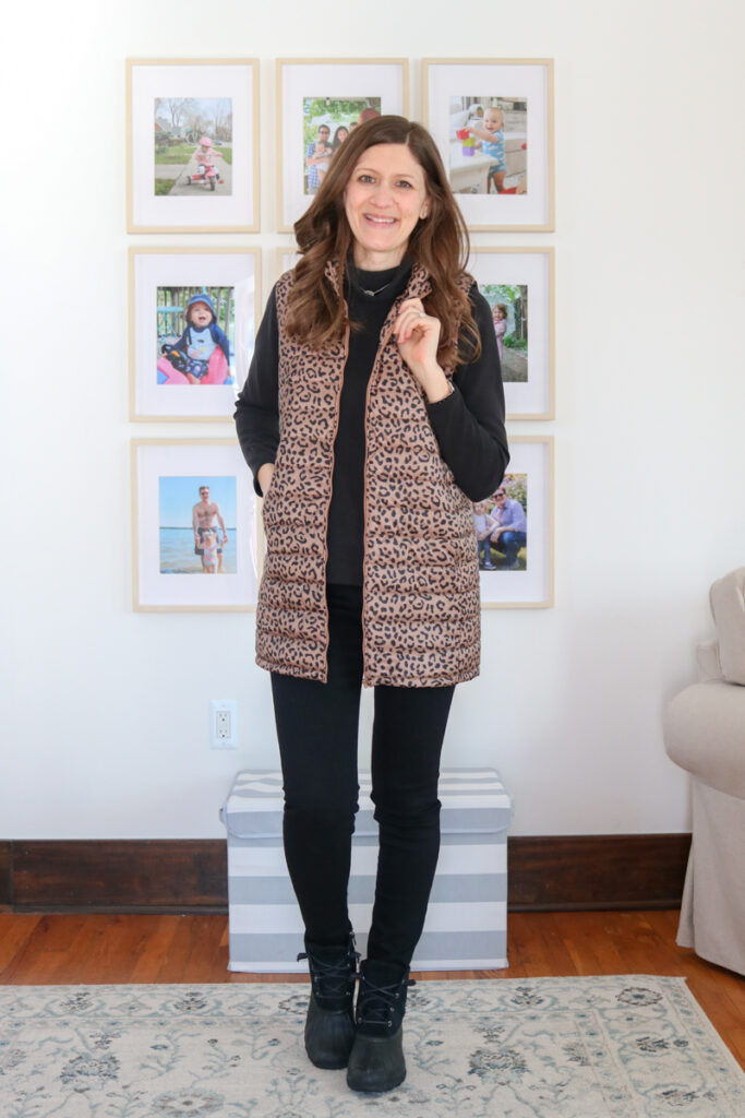 Wantable Style Edit Review featuring black Nora Top and Just Black ripped hem jeans - Crazy Together blog