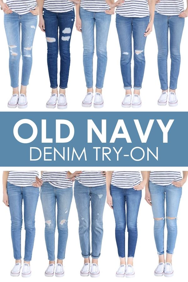 Old Navy summer denim haul and try-on