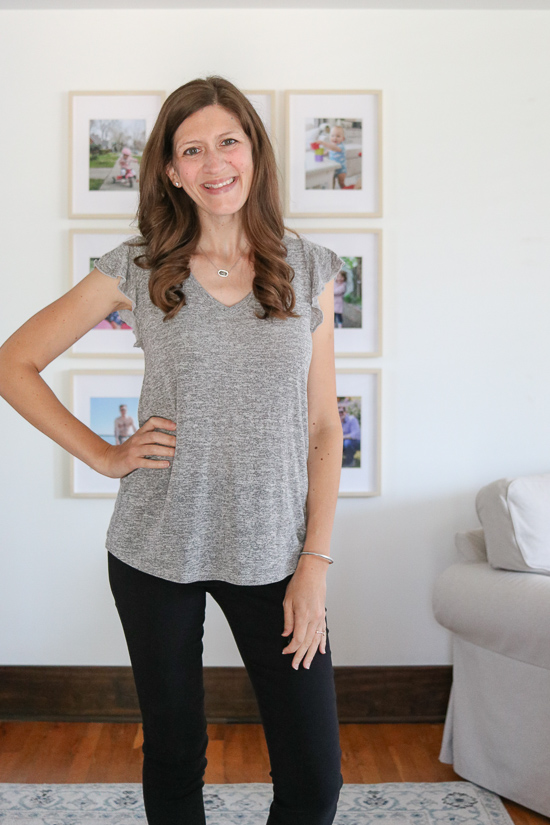 fashion subscription box review featuring Jacki Hacci Top from Natural Life from Fashom